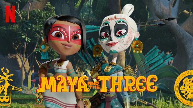 Maya and the Three on Netflix Canada